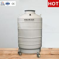 Buy cheap TianChi liquid nitrogen gas cylinder 100L in Slovenia Aviation aluminum color manufacturers from wholesalers