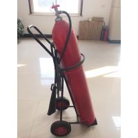 Buy cheap 10 kg Wheeled Co2 Fire Extinguisher With Alloy Steel Cylinder / Brass Valve product