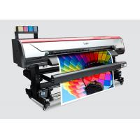 Buy cheap 1.6m Wide Format Flex Banners Inkjet Printer Indoor Advertising Printing Machine from wholesalers