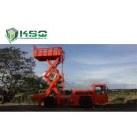 Buy cheap Underground Service Vechicles 1 Ton Scissor Lift Truck for Underground Mining or Tunneling Project product