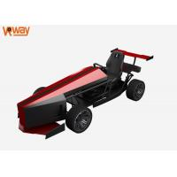 Buy cheap 42 Inches Monitor VR Racing Simulator / VR Car Driving 1 Player 2 Shift Option from wholesalers