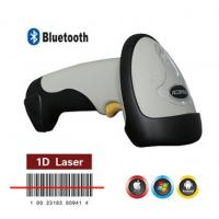 Buy cheap Updated Portable 1D Laser USB Wireless Bluetooth Barcode Scanner with Flash Memory for IOS Android Windows from wholesalers