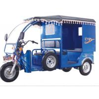 Buy cheap Environmental 60V 1280W Battery Operated Electric Passenger Tricycle 26km/H from wholesalers