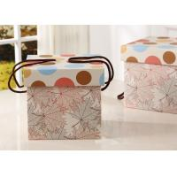 Buy cheap Weight 300g Large Kraft Gift Box , Snack Packaging Boxes With Rope Handle from wholesalers