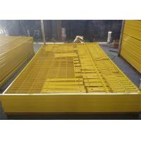 Buy cheap Portable welded canada temporary fencing removable stainless steel material product