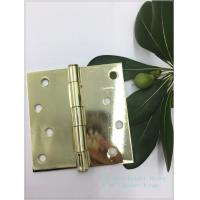 Buy cheap 4 Polished Bright Heavy Duty Swinging Door Hinges Square Type from wholesalers
