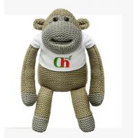 Buy cheap Tips Monkey Soft Stuffed Animal Customized , Knitted Monkey For Promotion Gifts from wholesalers