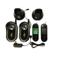 Buy cheap 2.4ghz Video Door Entry Intercom Systems With 2 Monitor And 1 Camera from wholesalers