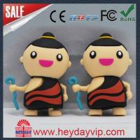 Buy cheap customized boy rubber PVC usb flash drive usb stick from wholesalers