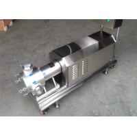 Buy cheap Easy Operation Food Grade Pump Three Stage Pipeline High Shear Dispersing Emulsifier from wholesalers
