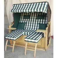 Buy cheap All Weather 2 Seat Roofed Wicker Beach Chair & Strandkorb For Garden from wholesalers