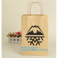 Buy cheap Cheap small paper gift bags Promotional Luxury OEM Design Gold Foil Logo Wedding Custom Paper Gift Bag with Ribbon PACK from wholesalers