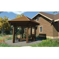 Buy cheap High Density Composite Gazebo Kits High Grade Rot Resistance 5.3m * 4.6m * 3.9m from wholesalers