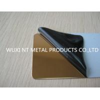China 316L Hairline Color Stainless Steel Sheet SUS JIS EN Steel Plate For Decoration on sale