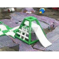 Buy cheap 4.8m High Inflatable Water Toys Inflatable Water Jumping Tower With Water Slide from Wholesalers