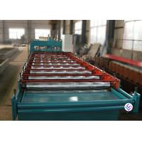 Buy cheap 1250 Mm Light Weight Metal Roofing Machine For Trapezoidal Roof Cladding Sheet from wholesalers