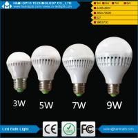 Buy cheap 3W 5W 7W 9W Plastic led bulb lighting with E27/ B22 SMD5730 LED from wholesalers