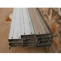 Buy cheap Automatic Drilled Holes Steel Building Purlins , Cold Rolled Steel C Purlin  from wholesalers