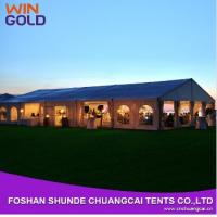 Buy cheap 2015 Hot Sale Aluminum 20m Wholesale Waterproof Canvas Tent,Outdoor wedding tent from wholesalers