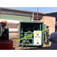 Buy cheap High Voltage Transformer Oil Purifier,Insulation Oil Purification System, Oil Filtration from wholesalers
