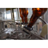 Buy cheap Automatic 1000BPH glass bottle/PET bottle beer/wine 3 in 1 washing filling capping machine from wholesalers