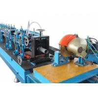 Buy cheap 7.5Kw Power Octagon Tube Automatic Rolling Shutter Machine With PLC Control product