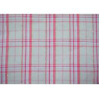 Buy cheap Luxury Shiny Gold Thread Yarn Dyed Plaid Fabric Bright Colored Printing from wholesalers