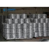 Buy cheap Flatwrap Razor Wire Fence Silver Color Security Barrier With Sharp Edges from wholesalers