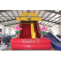 Buy cheap Popular Spongebob Inflatable Slide from wholesalers
