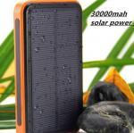 Buy cheap 2015 New 30000mah Waterproof solar power bank bateria externa solar charger powerbank for from wholesalers