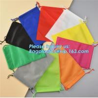Buy cheap Wholesale Promotion Portable Gift Small Non Woven Drawstring Bag, Non woven drawstring pocket shoes bag , Clothes bag ,f from wholesalers