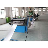Anti Corrosion Cable Tray Roll Forming Machine Forge Steel Shaft 5.5kw Cutting Power