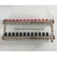 Buy cheap 12 Port Stainless Steel 304 Underfloor Heating Manifold Set , China OEM Stainless Steel Manifold for Floor Heating from wholesalers
