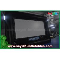 Buy cheap 6 X 3.5m Pvc / Oxford Cloth Protable  Film Inflatable Movie Screen for Rental from wholesalers