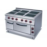 Buy cheap 4 Or 6 Plates Electric Range Cookers Round / Square Freestanding Electric Cooker from wholesalers