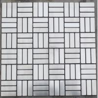Buy cheap gold decorative stone mixed metal tile from wholesalers