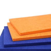 Buy cheap Fireproof Blue Polyester Acoustic Wall Panels For Studio And Music Room from wholesalers
