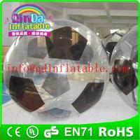 Buy cheap QinDa Inflatable zorb ball for sale water zorb ball roll inside inflatable ball from wholesalers
