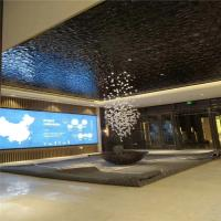 Buy cheap Hot sale mirror reflecting ceiling panel stainless steel water wave shaped  sheet from wholesalers
