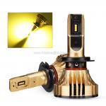 Buy cheap NOVSIGHT 3000K H4 LED H7 H11Automotive Headlight Bulbs 72W 12000LM Car Styling heandlight from wholesalers