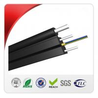 Buy cheap 2 Core Outdoor FTTH Drop Cable HS Code 8544700000 With Steel Wire Strengthen from wholesalers