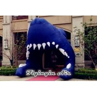 Buy cheap Inflatable Shark Entrance, Inflatable Shark Tunnel, Inflatable Shark Channel from wholesalers