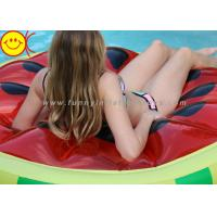 Buy cheap Inflatable Giant Watermelon Pool Float Red Green Inflatable Round Water Slice Floats from wholesalers