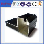 Buy cheap cheap aluminum profiles factory, Black Anodized aluminium profile for furniture from wholesalers