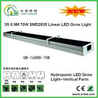 Buy cheap 3 Feet Hanging Hydroponic Led Grow Light For Growing Plants 70 Watt Power from wholesalers