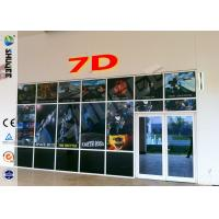 Buy cheap Luxurious Decoration 7d Simulator Cinema With HD Projectors Professional Audio product