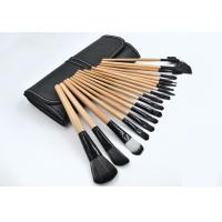 Buy cheap Customied Face Makeup Brush Kit Pink / Black Handle Color SGS Certification from wholesalers