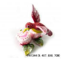 Buy cheap Pewter Bird Animal Shaped Jewelry Boxes from wholesalers