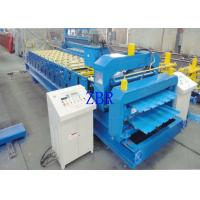 Buy cheap 3.2 Tons Double Layer Roll Forming Machine 5.5 Kw Hard Forged Shaft product