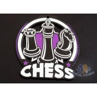 Buy cheap 2D / 3D Design Glow In The Dark Chess Medals Participation Medals Spray Black Plating from wholesalers